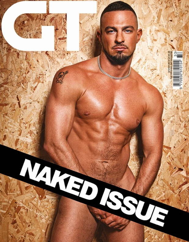 Robin Windsor poses for 'Gay Times'