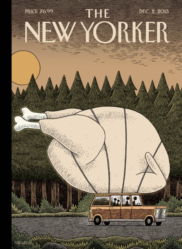 Tom Gauld's 'New Yorker' cover 'Turkey Day'