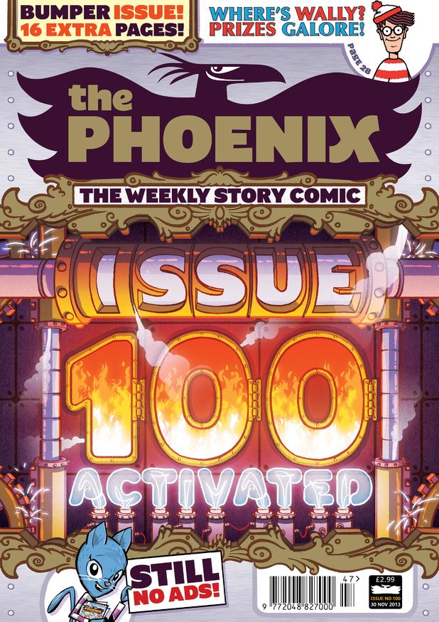 The Phoenix #100 cover