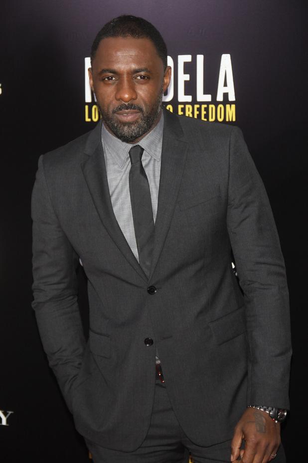 'Mandela: Long Walk to Freedom' film screening, New York, America - 25 Nov 2013 Idris Elba