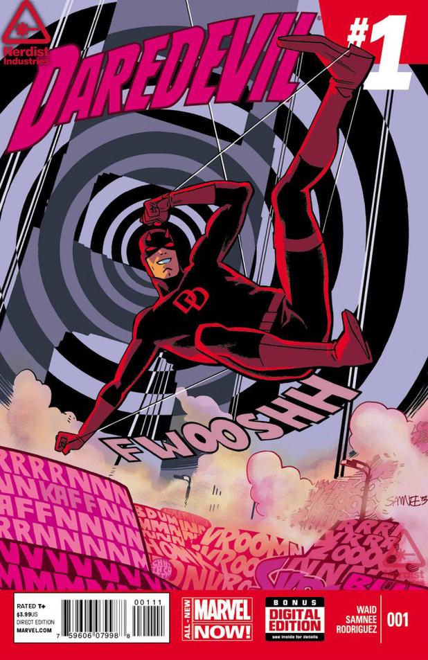 Daredevil #1 artwork