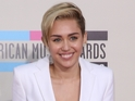 Miley Cyrus at the American Music Awards at the Nokia Theatre L.A. Live