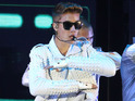 Justin Bieber performs on stage during the first Australian stop of his Believe tour (November 27)