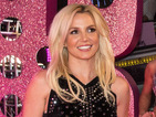Britney Spears posts Woody Woodpecker impression, challenges Katy Perry