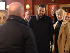EastEnders: Mick Carter's identity shocks Phil - spoiler pictures
