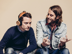 Elijah Wood and Zach Cowie who designed Bushmills and Grado Labs headphones