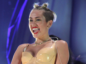 MTV Video Music Awards Show, New York, America - 25 Aug 2013 Miley Cyrus