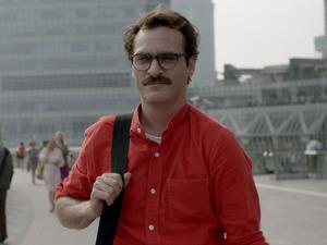 Joaquin Phoenix in Spike Jonze's 'Her'