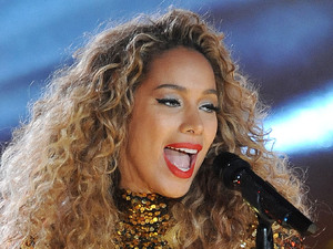 Leona Lewis performing live at 2013 Rockefeller Center Christmas Tree Lighting at Rockefeller Center Plaza in New York