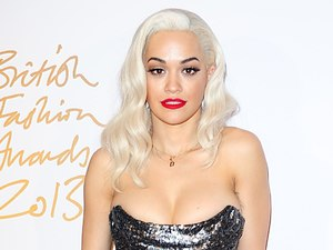 Rita Ora arriving for the 2013 British Fashion Awards, at The London Coliseum, St Martin's Lane, London.