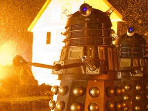The Daleks in the Doctor Who Christmas Special