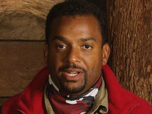 Alfonso Ribeiro before the Bush Tucker Trial