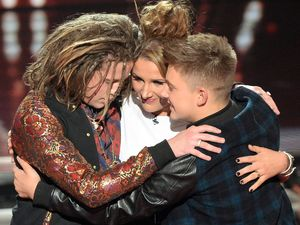 Luke Friend, Sam Bailey and Nicholas McDonald find out they have made The X Factor final