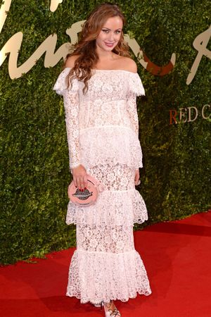Camilla Al Fayed for the 2013 British Fashion Awards, at The London Coliseum, St Martin's Lane, London.