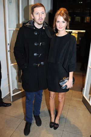 Stella McCartney store Christmas lights switching on ceremony, London, Britain - 04 Dec 2013 Professor Green and Millie Mackintosh 4 Dec 2013