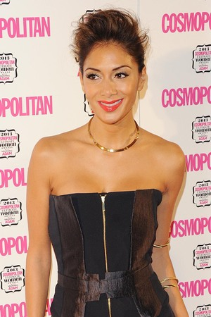 Nicole Scherzinger at the Cosmopolitan Ultimate Women of the Year Awards 2013