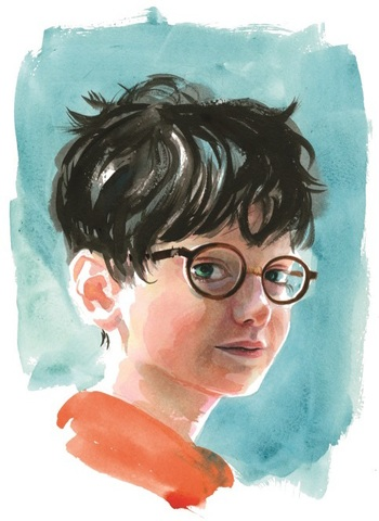 Harry Potter illustrated by Jim Kay