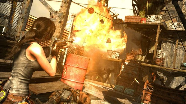 Screenshot from Tomb Raider: Definitive Edition