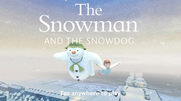 The Snowman and Snowdog app