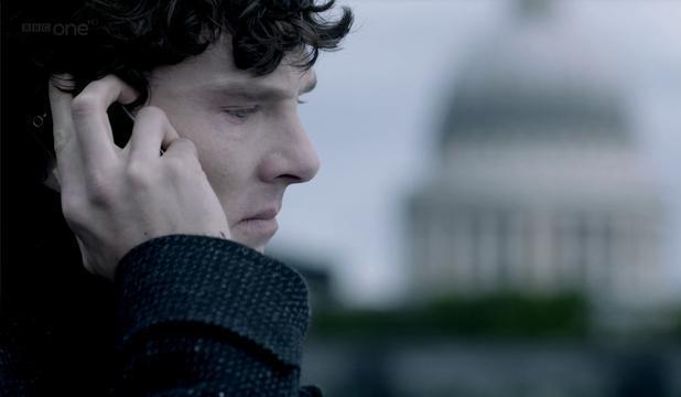 Benedict Cumberbatch in 'Sherlock' episode six 'The Reichenbach Fall'