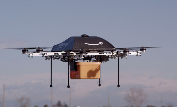 Amazon Prime Air - flying drone