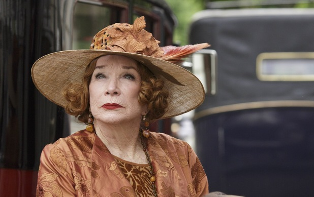 Shirley MacLaine as Martha Levinson in Downton Abbey Christmas Special