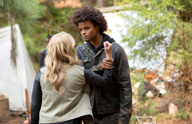 Claire Holt as Rebekah and Eka Darville as Diego in The Originals: 'Reigning Pain in New Orleans'