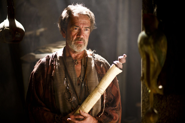 Robert Lindsay as Daedalus in Atlantis episode 10: 'The Price of Hope'