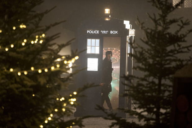 Matt Smith as The Doctor in the Doctor Who Christmas Special