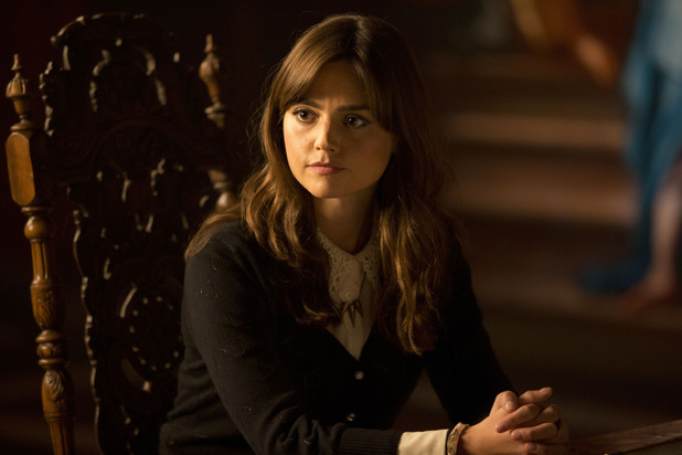 Jenna Coleman as Clara in the Doctor Who Christmas Special