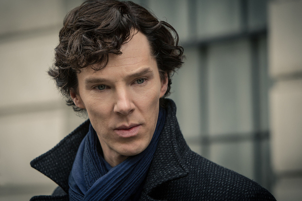 Benedict Cumberbatch in Sherlock Series 3