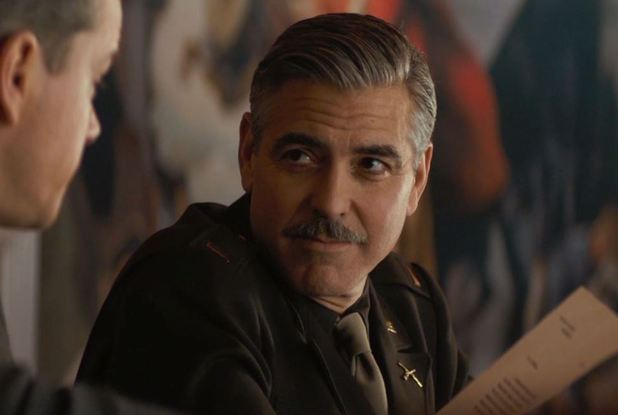George Clooney in 'The Monuments Men' trailer still
