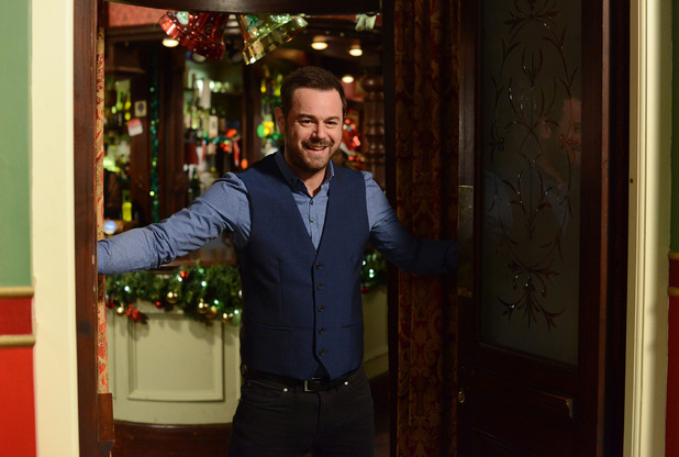 Mick Carter takes over the Queen Vic.