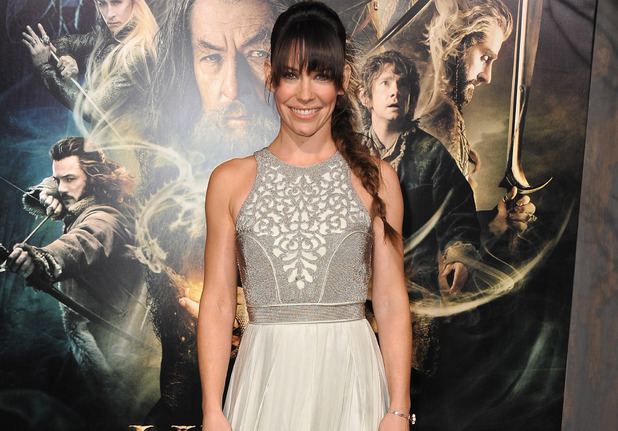 "Evangeline Lilly arrives at the Los Angeles premiere of ""The Hobbit: The Desolation of Smaug"" at the Dolby Theatre on Monday, Dec. 2, 2013"