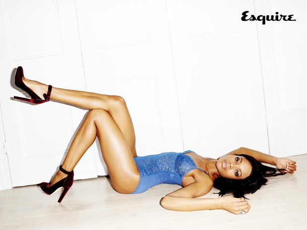Naomie Harris strips off for Esquire