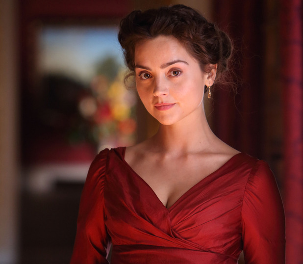 Jenna Coleman in 'Death Comes to Pemberley'.