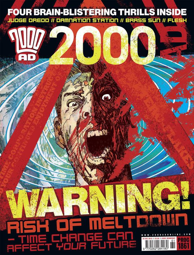 2000 AD Prog 1861 cover