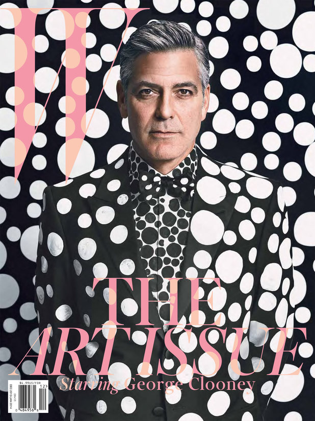 George Clooney photo shoot for W Magazine