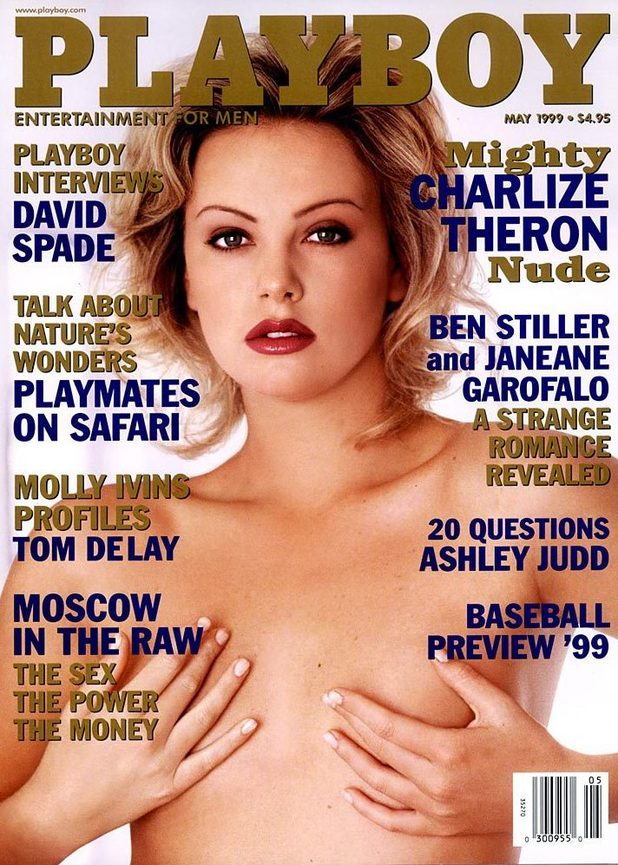 Charlize Theron, Lindsay Lohan: Playboy covers