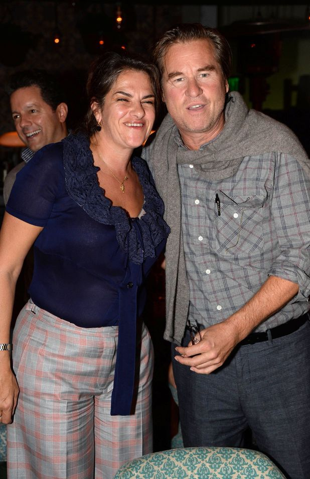 Art Basel: Tracey Emin: Angel Without You - VIP opening, Miami, America - 03 Dec 2013Tracey Emin and Val Kilmer3 Dec 2013
