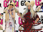 Lady Gaga performs with GagaDolls