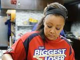 Cooking on the ranch during episode 8 of The Biggest Loser