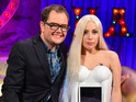 Alan Carr interviews Lady Gaga on 'Chatty Man'.