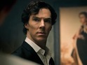 Cumberbatch exclusively spills the beans on Sherlock's sex drive.