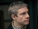 Martin Freeman says that shooting on the BBC hit will resume next year.