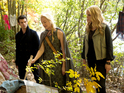 Daniel Gillies as Elijah, Tasha Ames as Eve, and Claire Holt as Rebekah in The Originals: 'Reigning Pain in New Orleans'