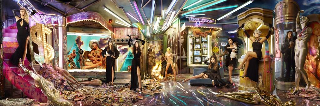 Kardashian Christmas Card - Dave LaChapelle