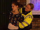 Coronation Street: Kylie arrested on Christmas Day - video