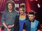 X Factor: Sam, Luke, Nicholas sing acoustic Christmas classic - watch