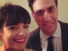 Ed Miliband follows Joey Essex selfie with Lily Allen picture